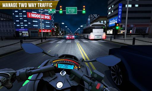 Police Moto Bike Highway Rider Traffic Racing Game modavailable screenshots 3