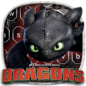 How to Train Your Dragon Toothless Keyboard Theme icon