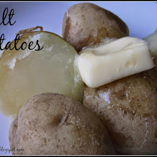 Salt Potatoes.