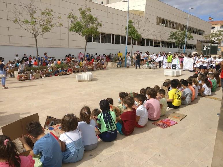 300 escolares han participado en la actividad.