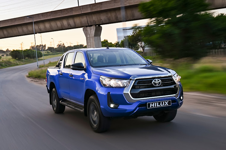 The Toyota Hilux 2.4 GD-6 4x4 Raider.