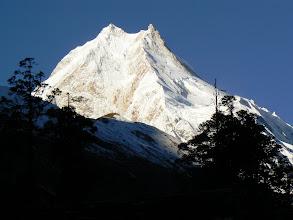 Photo: Manaslu from Shyala