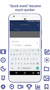 Daily: events, calendar, notes screenshot 1