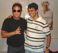 Photo: E e o cantor Leonardo em Brasília em 11/01/2009