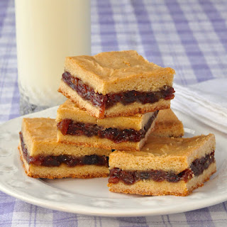 Raisin Filled Cookies - made as cookie bars