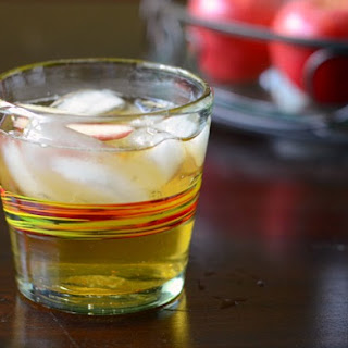 Bourbon and Hard Cider Cocktail