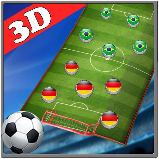 Finger Soccer Star - Mini Finger Football Stars
