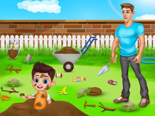 Daddyu2019s Helper Fun - Messy Room Cleanup screenshots 3
