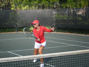 Photo: Christina in action