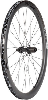 DT Swiss HGC 1400 Spline 42 Rear Wheel -  700, 12 x 142, Center-Lock, HG/XDR, Black alternate image 0