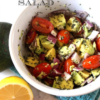 Avocado and Tomato Salad Recipe