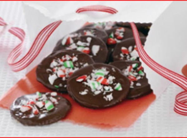 Mint Thins (ritz Cracker Cookies) Recipe