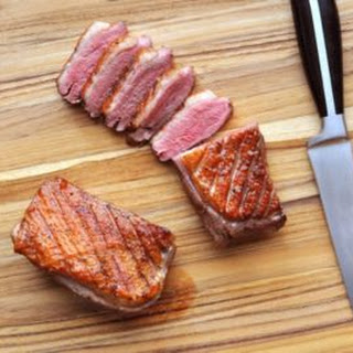 Sous Vide Duck Breasts.