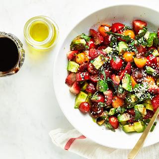 Avocado Strawberry Caprese Recipe