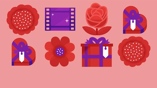 Valentinstag-Angebote im Google Play Store. (Bild: Google)