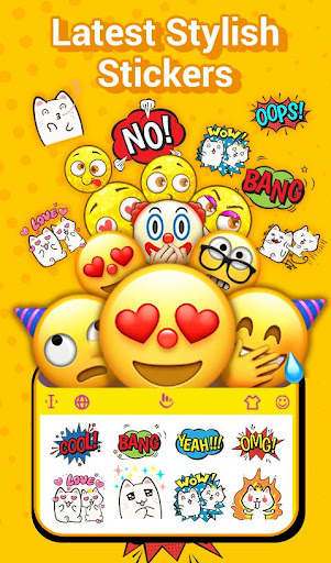 TouchPal Emoji Keyboard: AvatarMoji, 3DTheme, GIFs screenshot