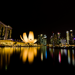 Marina Bay Sands by Oemar Patex - City,  Street & Park  City Parks