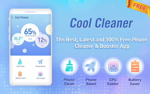 Cool Cleaner screenshot 1