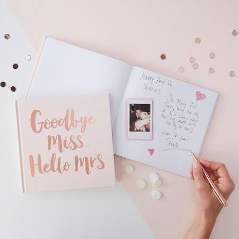 Bok för minnen och råd - Team Bride