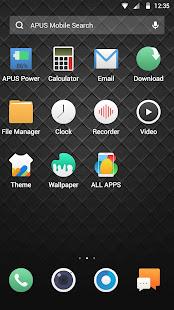 download cool black apus launcher theme apk latest version app for pc