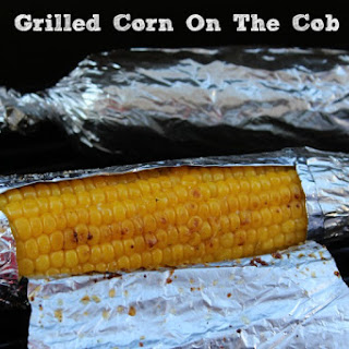 Grilled Corn On The Cob In Foil.