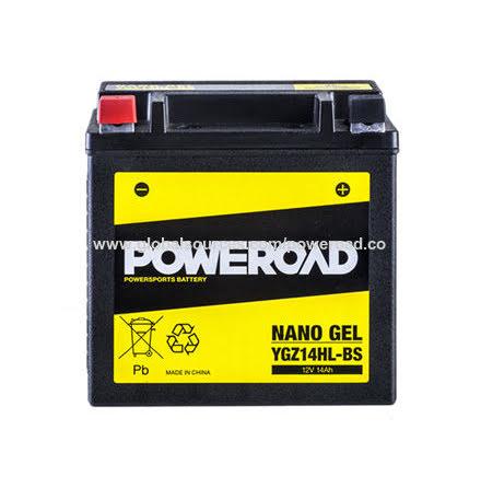 YZG14HL-BS Gel batteri 14Ah