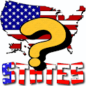50 US States Geography Quiz icon