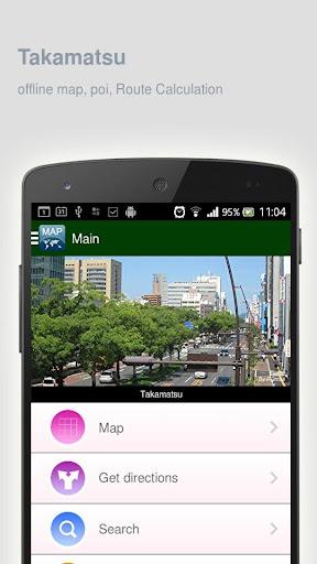 Takamatsu Map offline