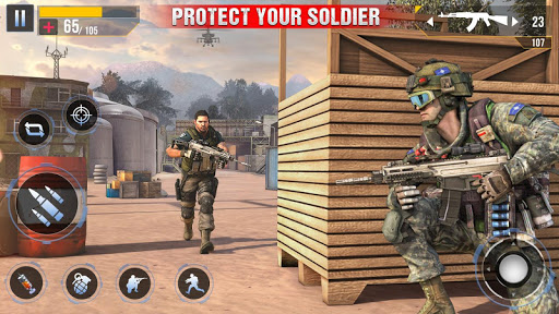 Real Commando Secret Mission screenshot 3