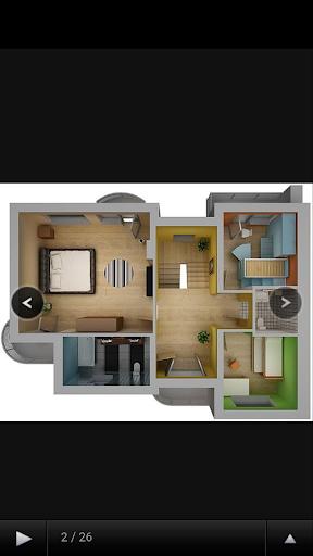 주택 계획의 HD