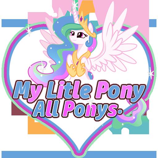 My Litle Pony All Ponys