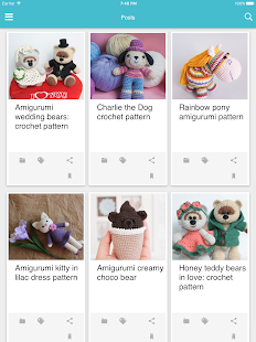 Amigurumi Today: free patterns & crochet tutorials- screenshot thumbnail