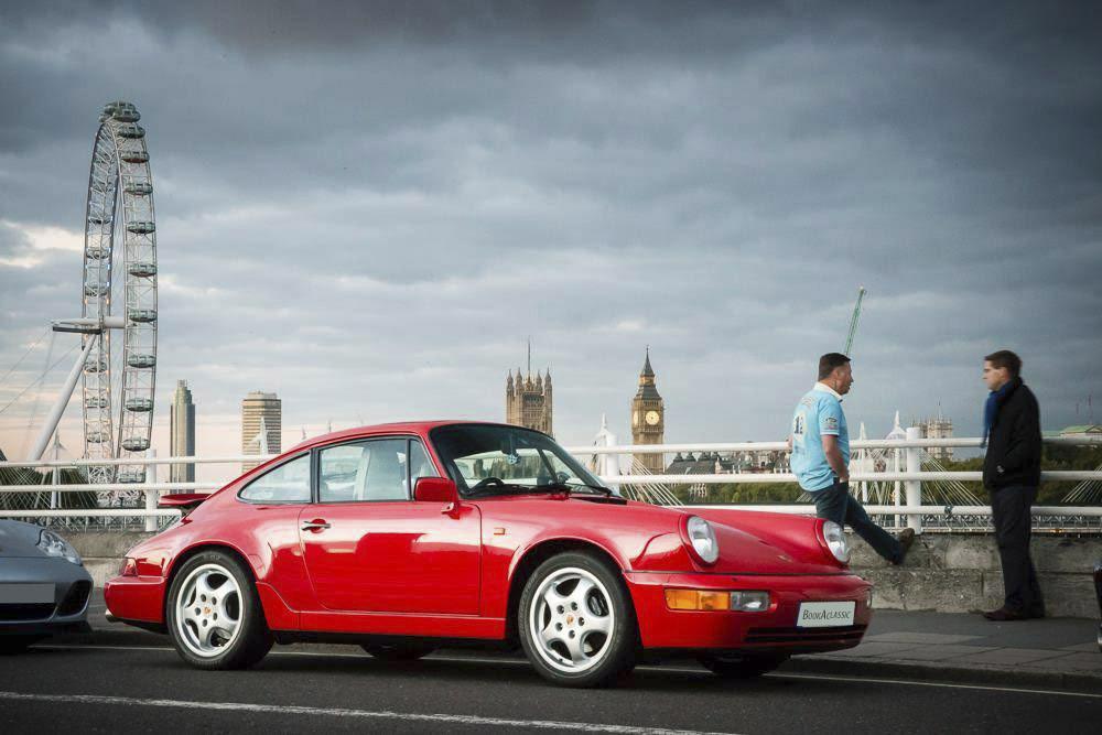 Porsche 911 964 Carerra 2 Hire London