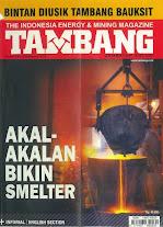 ebook Majalah Tambang Edisi November 2013