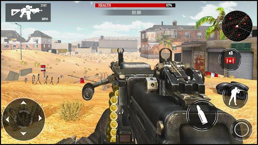 World War WW2 Machine Gun Shooter: Shooting Games  screenshots 2