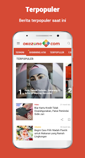 Okezone official apps on google play screenshot image reheart Choice Image