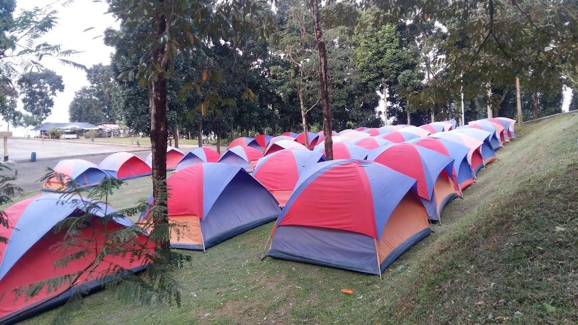 Wana Wisata   Hambalang  Tempat Camping Sekolah  di  Bogor