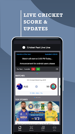 Cricket Fast Live Line screenshots 1