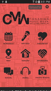 CANADIAN MUSIC WEEK- screenshot thumbnail