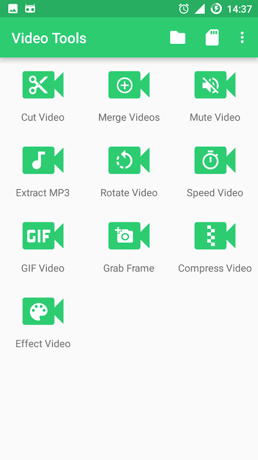 Video Tools- screenshot