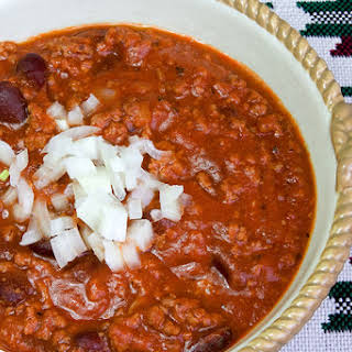 Slow Cooker Momma's Roadhouse Chili.