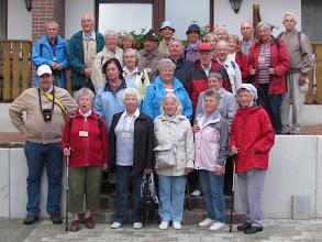 Photo: Unsere Wandergruppe zum 111. Deutschen Wandertag
