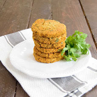 Sweet Potato Lentil Burgers