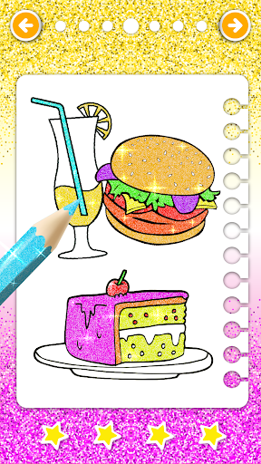 Food Coloring Game - Learn Colors modavailable screenshots 12