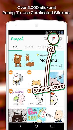 Animated Free Stickers- Stapa! 1.3.11 Windows u7528 2