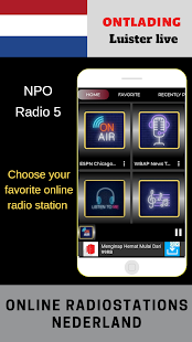 App NPO Radio 5 ONLINE APP RADIO APK for Windows Phone