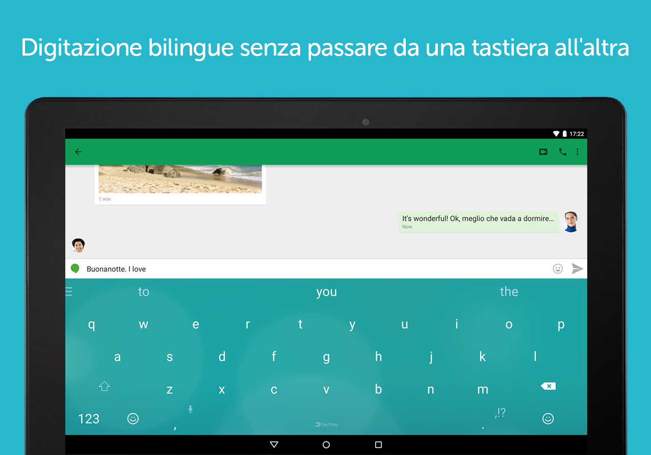 Tastiera SwiftKey- screenshot