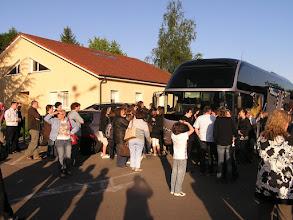 Photo: Départ pour un voyage scolaire à Barcelone et environs, le 18 mai 2009 à 20h.