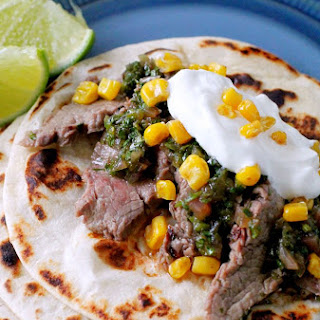 Pineapple Marinated Steak Tacos.