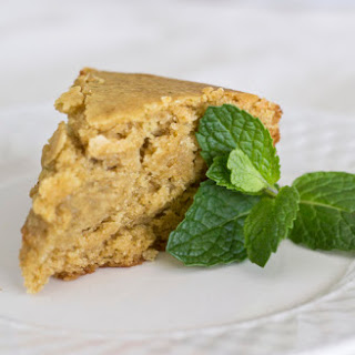 Lemon Mint Yogurt Cake  (egg free)